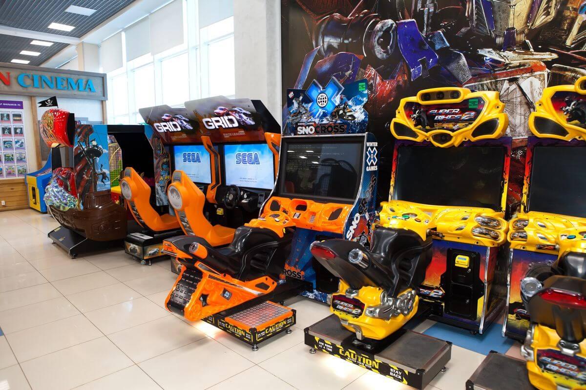 игровые автоматы для кинотеатра